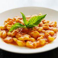 Tomato cream sauce