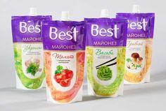 Best U — майонезы с необычным вкусом / Компания: FORTfood /Торговая марка: Best U/Агентство: iQonic