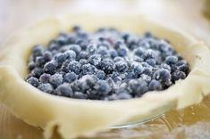 The Pioneer Woman's MAMA'S blueberry pie recipe.