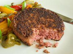 Beyond vegan burger κομμένο με ψήσιμο medium No Cook Meals, Steak, Cooking Food, Vegan, Steaks, Vegans