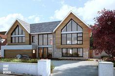 Chalet bungalow - wow what a conversion