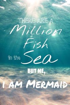 Why, yes, I most certainly am a mermaid! I even have a pet catfish. . . .  Meow! ^..^