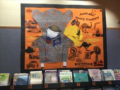 CBCA book week 2016 display Australia Story Country Language And Literature, Book Week, Library Displays, Retelling, Our World, Toddler Crafts, Special Events, Literacy, Australia