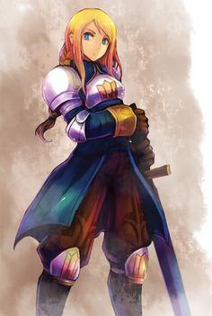 Agrias - Final Fantasy Tactics