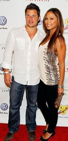 Who made Vanessa Minnillo's black shoes and sequin shirt that she wore to the Maxim party in Miami, February 06, 2010? Shoes – Christian Louboutin  Shirt – Sheri Bodell