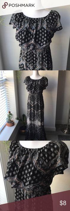 Bohemian Dress Worn once MM6 Maison Martin Margiela Dresses Maxi