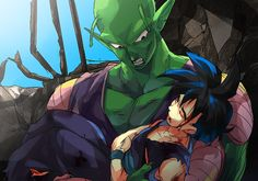 Piccolo and Gohan by Umintsu on deviantART