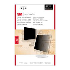 3M Privacy Filter for Widescreen Desktop LCD Monitor 22.0″ (PF22.0W) #deals
