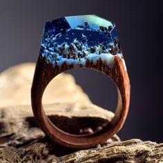 Вот так выглядят, пожалуй, самые залипательные кольца насвете