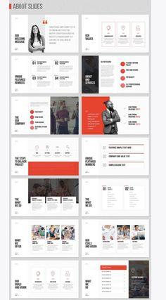Employee/Recruiting focus – Design is art Ppt Design, Powerpoint Design Templates, Design Brochure, Brochure Layout, Slide Design, Booklet Design Layout, Design Posters, Design Color, Food Design