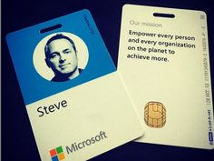 Even Microsofts Employee Badges Have Switched From Squares To Circles