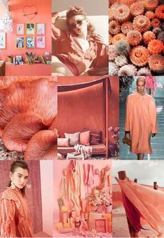 Our FV contributor and friend, Pattern Curator curates an insightful forecast of mood boards & color stories. They are collectors of images and photos to offer print, pattern and color trends. Coral Fashion, Fashion Colours, Mode Inspiration, Color Inspiration, Moda Coral, Pattern Curator, Live Coral, Color Stories, Color Of The Year