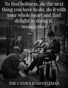 Meister Eckhart #humility #holiness #wisdom