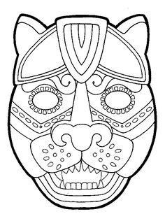20 best aztec images maya civilization mesoamerican maya Aztec Hunting Bows aztec mask mayan mask aztec culture art lessons cultura maya mayan