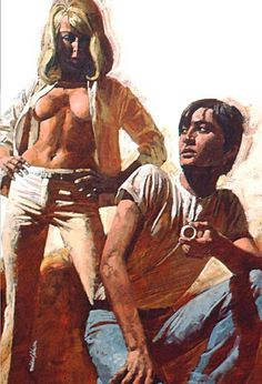 Cover illustration for a Corgi book 1969 Michael Johnson, Pulp Fiction Art, Pulp Art, Magazine Illustration, Book Illustration, Retro Art, Vintage Art, Vintage Romance, Art Jokes