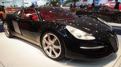 Fuore Jaguar BlackJag at Essen Motorshow - Exterior Walkaround