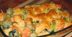 Smaczna lekka zapiekanka mięsno warzywna. Doskonała na wszystkie okazje: na obiad, na kolację, na przyjęcie gości, ....  Inspiracją tego tro... Snack Recipes, Dinner Recipes, Snacks, Going Vegetarian, Brunch, Bon Appetit, Macaroni And Cheese, Chicken Recipes, Food Porn