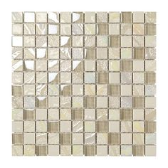"""Mosaic made with glossy/frosted glass chips together with bumpy, iridescent and """"vetrosa"""" effect ceramic chips. thickness, on mesh. Ok wall. Cork Wood, Frosted Glass, Mosaics, Iridescent, Boxer, Tile Floor, Chips, Mesh, Flooring"""