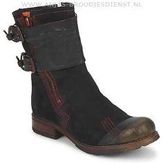 Hoge Kwaliteit Dames Laarzen Papucei HADES Zwart Online Kopen YSH6E39GB42DLE