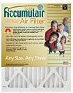 25x25x4 (24.5 x 24.5 x 3.63) Accumulair Gold 4-Inch Filter (MERV 8) by Accumulair Gold. $34.70. Accumulair Gold has a MERV 8 Rating. Electrostatic charge captures airborne allergens SMALLER THAN 1 micron including fine dust, smoke, dander, mold, pet dander and dust mites. Also traps most large allergens including pollen and lint. Up to 20-times more effective at capturing micro particles than ordinary fiberglass filters. Designed for uniform air flow. Lasts 6 to 8 m...