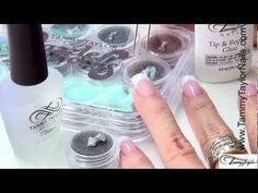 """How to:Tammy Taylor Demonstrates Dazzle Rocks Nail Jewelry """"Put a Bow On It Collection"""""""