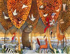 Isabel Hojas: Forest