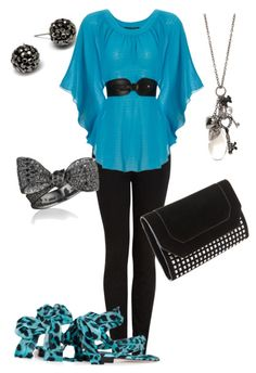 love the shirt and the jewelry don't like the pants, shoes, or the purse!