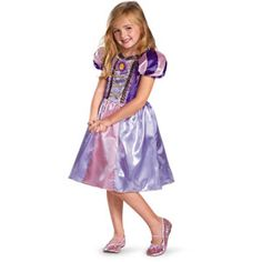 rapunzel sparkle classic costume girls medium 7 8