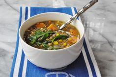Potato, Kale, and Lentil Soup