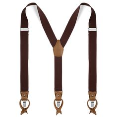 Buy TND Basics - Wide Dark Brown Leather Braces for only Shop at Trendhim and get returns. We take pride in providing an excellent experience. Suit With Suspenders, Leather Suspenders, Dark Brown Leather, Green Leather, Dark Grey, Leather Braces, Black Bow Tie, Square Rings, Lederhosen