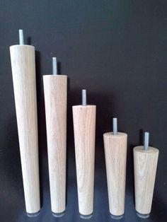 Holzfüße Sofafüße Möbelfüße Kommodenfüße Holz Eiche natur Länge von 12-30 cm neu in Möbel & Wohnen, Möbel, Zubehör | eBay!
