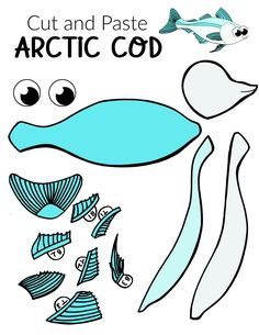 Fish crafts are not only great for summer but great for winter too! How cool is this arctic cod fish craft? Use the free printable arctic cod fish template to make this easy underwater ocean animal. He is perfect for kids of all ages including preschool, kindergartner, toddler #fishcraft #arcticanimal #arcticcodcraft #oceananimals #SimpleMomProject Ocean Animal Crafts, Animal Crafts For Kids, Winter Crafts For Kids, Fish Crafts, Crafts To Do, Arctic Animals, Cute Animals, Sea Creatures Crafts, Penguin Coloring