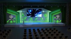 Stage Designs on Behance Bühnen Design, Booth Design, Event Design, Stage Lighting Design, Stage Set Design, Exhibition Stall, Exhibition Stand Design, Concert Stage Design, Backdrop Design