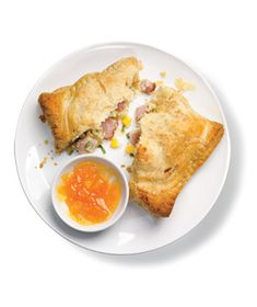Ham and Corn Turnovers