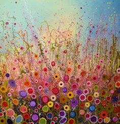 My new favourite: 'My sweet honey valentine' by Yvonne Coomber 80cm x 80cm £1600 www.lyndhurstgallery.co.uk