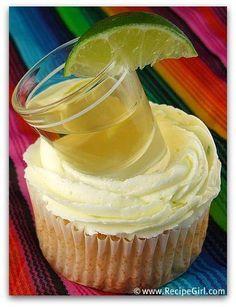 Dessert   Margarita Cupcakes