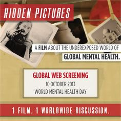 On #WorldMentalHealthDay, ASHA International and more than 30 international partners, including iFred, will participate in the Global Web Screening of Hidden Pictures, an award-winning new film about global mental health.  Tune in any time on October 10th to watch Hidden Pictures and join a global dialogue about mental health issues.