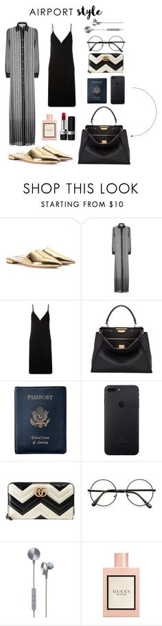 """Jet Set"" by wasted-luxury ❤ liked on Polyvore featuring Prada, Lanvin, Fendi, Royce Leather, Gucci, i.am+ and Christian Dior"