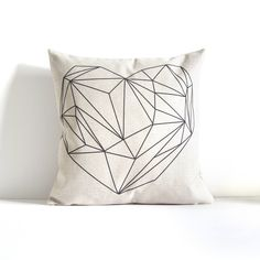 Heart lines Design - Umbrella Design - Throw Pillow Cover, Decorative Pillow Cover, Throw Pillow, Sofa Pillow, Gift, Pillow Covers by APieceOfBella on Etsy https://www.etsy.com/listing/480358812/heart-lines-design-umbrella-design-throw