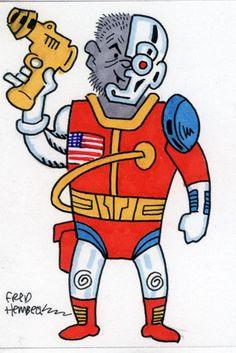 Fred-Hembeck-Color-Sketch-Card-Deathlok-Marvel-1-1