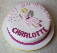 Flying Fairy Birthday Cake