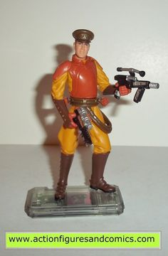 star wars action figures NABOO ROYAL SECURITY 1999 episode I 1 complete hasbro toys