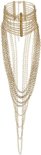 Gold Chain High Neck Necklace.. LOVE THIS!!!!!!!!!!!!!!!!!!!!!!!!!!!!!