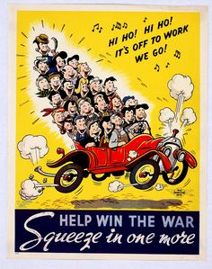wwII carpool propaga