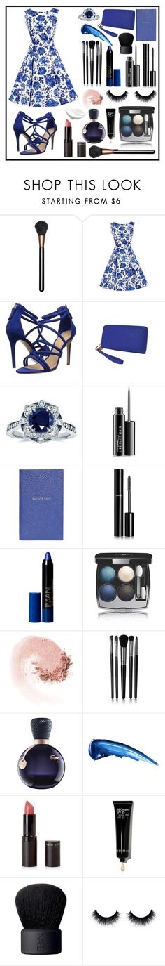 """Untitled #68"" by abecic ❤ liked on Polyvore featuring MAC Cosmetics, Schutz, Humble Chic, Kobelli, Smythson, Chanel, NARS Cosmetics, Illamasqua, Lacoste and Bobbi Brown Cosmetics"