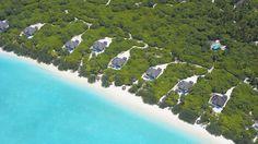Island Hideaway Spa Resort & Marina on Dhonakulhi Island in the Maldives. Looks heavenly.