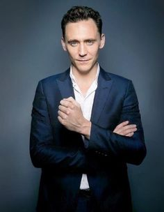 Tom Hiddleston. Photographed by Michael Muller.