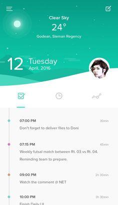 Dribbble - home.jpg by Zazuly Aziz Timeline App, Timeline Example, Timeline Design, Mobile Application Design, Mobile Ui Design, App Ui Design, Interface Design, Flat Design, Ui Ux Design
