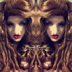 Finally shooting again! Feeling my Gaga today...  #Venus #gaga #hair #ladygaga #monster #dreads #curvy #curvydiva #auburn #wig #waves #curls #artpop #curves #lovegaga #wig #lovewigs #lushwigs #drag #dragqueen #queen #draguk #dragqueenuk #cosplay #crossplay by damedeadly