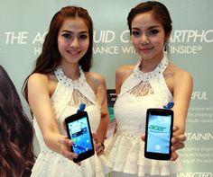 """Acer Liquid C1, el primer smartphone con el nuevo procesador Intel Atom Z2420 """"Lexington""""."""